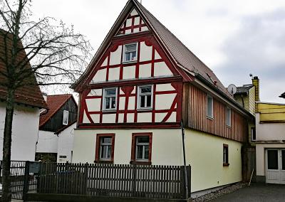 Fachwerk-Wohnhaus Kulturdenkmal